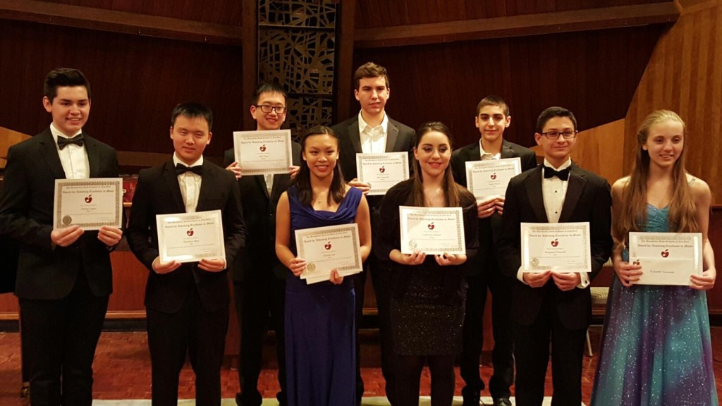 2016 MYO Concerto and Vocal Competition Finalists 1.27.2016