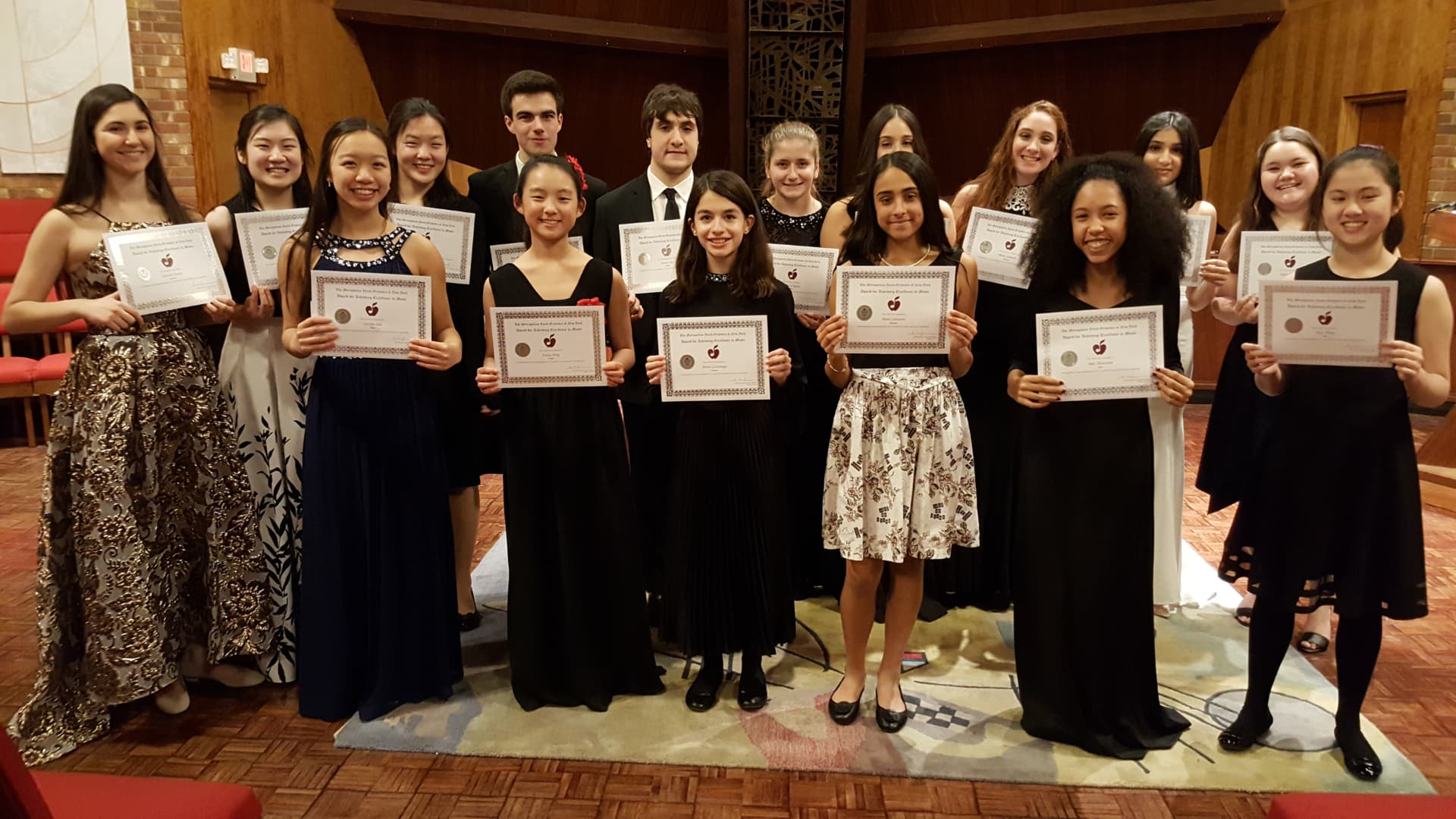 2019 MYO Concerto and Vocal Competition Finalists