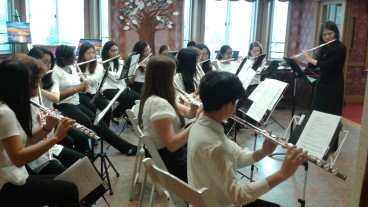Flute Choir at The Bristal