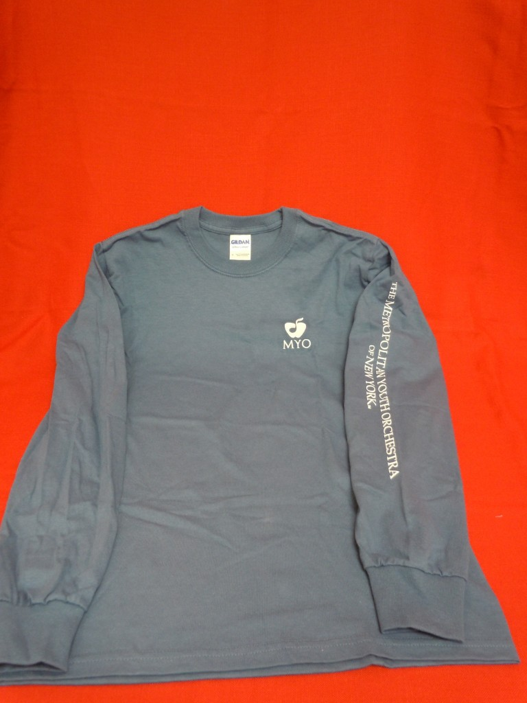 MYO Blue Long-Sleeved Shirt, $20