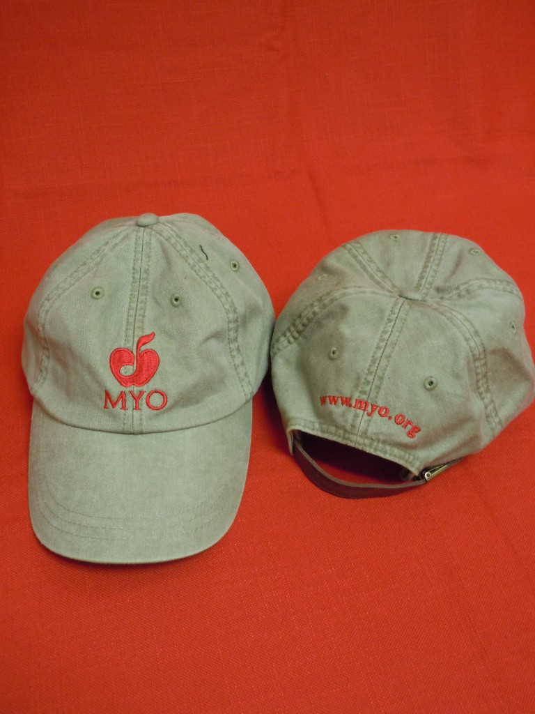 MYO Green Baseball Cap, $20