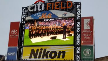 MYO Treble Choirs at Citi Field June 16, 2017