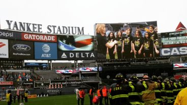 Nassau Concert and Symphonic Choirs Perform the National Anthem at Yankee Stadium for the New York City Football Club