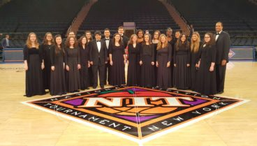 Nassau Chamber Chorale performs at Madison Square Garden