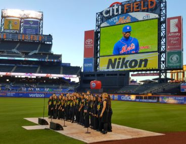 Nassau Symphonic Choir at the Mets, April 6, 2017