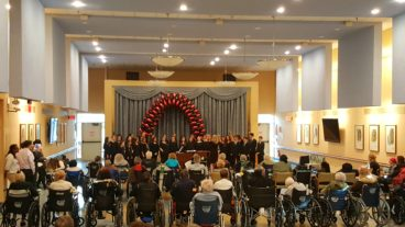 Nassau Concert Choir at Parker Jewish Institute