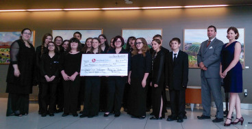 SCC Presents MYO Donation to Stony Brook Children's Hospital-