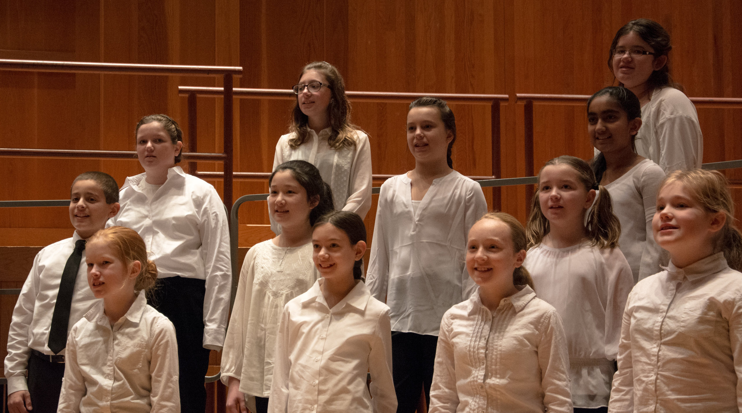 MYO Choirs in performance at LeFrak Concert Hall