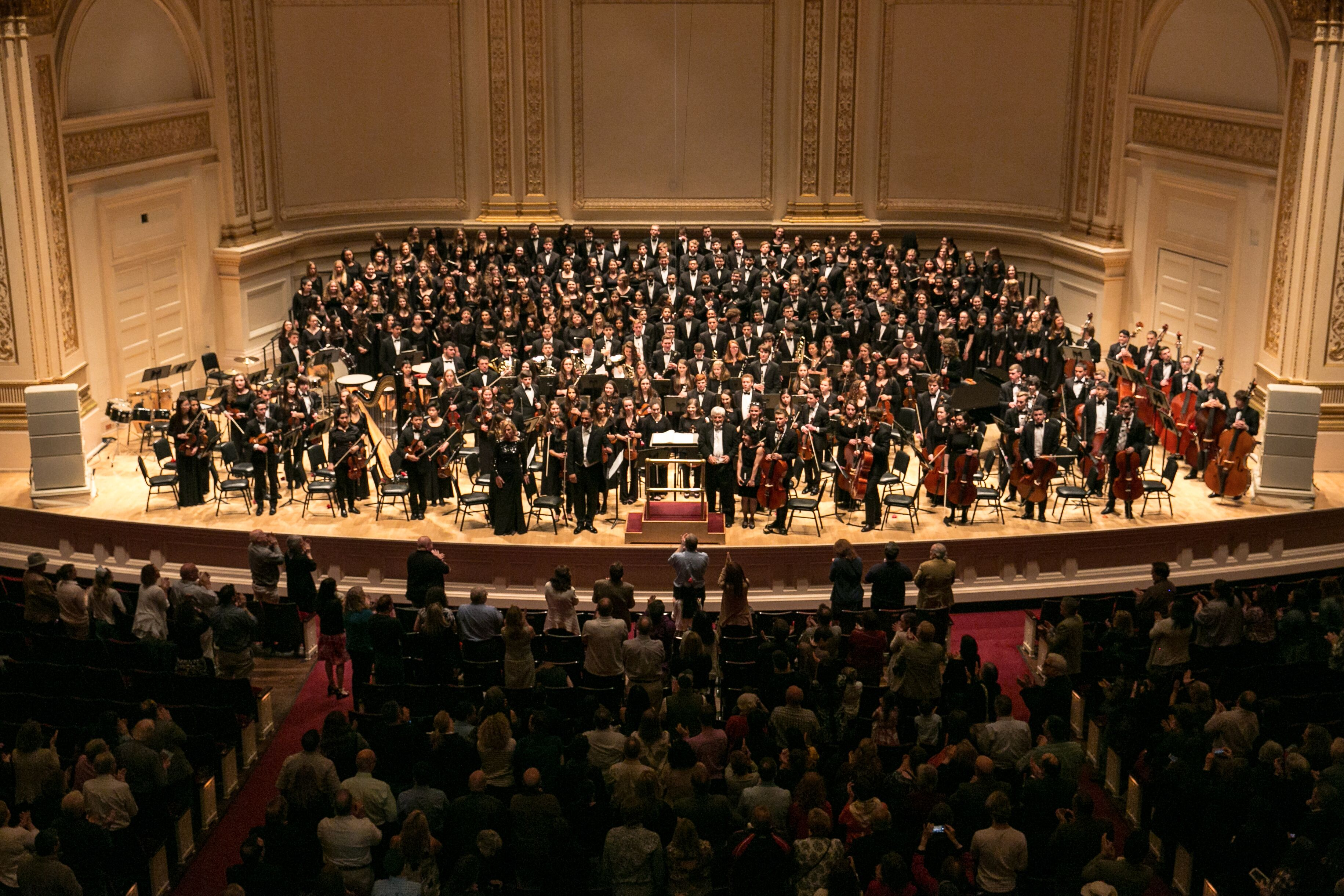 Carnegie Hall Calendar.Carnegie Hall Afternoon Concert The Metropolitan Youth Orchestra