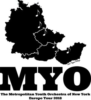 MYO Europe Tour Winning T-Shirt Design by Aviv Fetaya