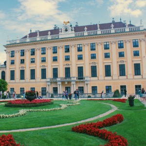 Picture of the Belvedere Palace in Vienna