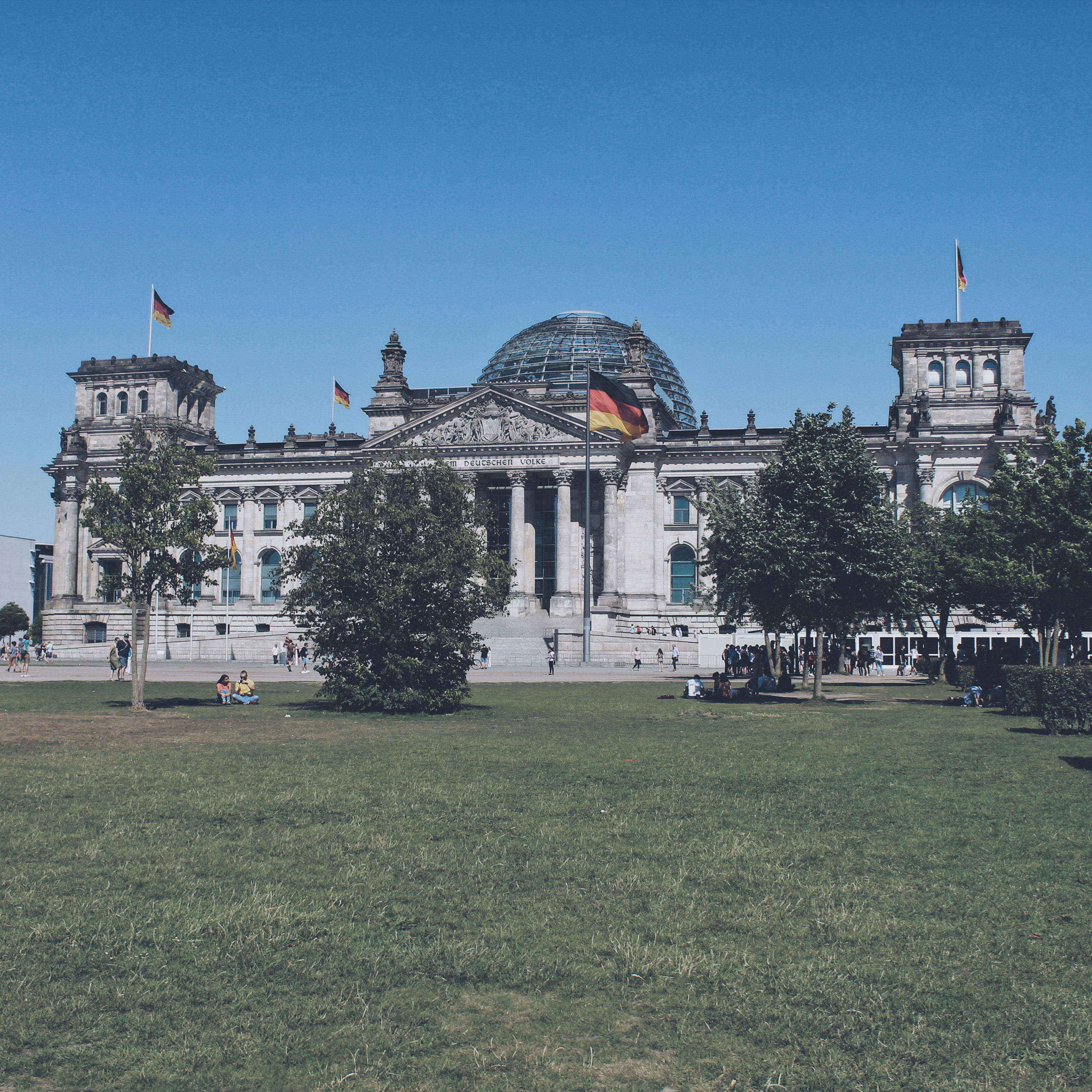 Photo of the Reichstag Building in Berlin