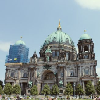 Photo of church in Berlin