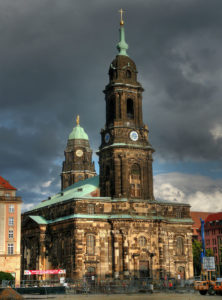 Picture of Kreuzkirche in Dresden