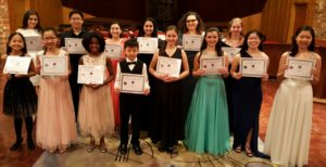 2018 MYO Concerto and Vocal Competition Winners